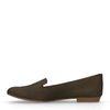 Dunkelgrüne Loafer