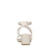 Kroko-Sandaletten in Latte