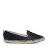 Espadrille-Loafer schwarz