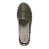 Espadrilles-Loafer grün