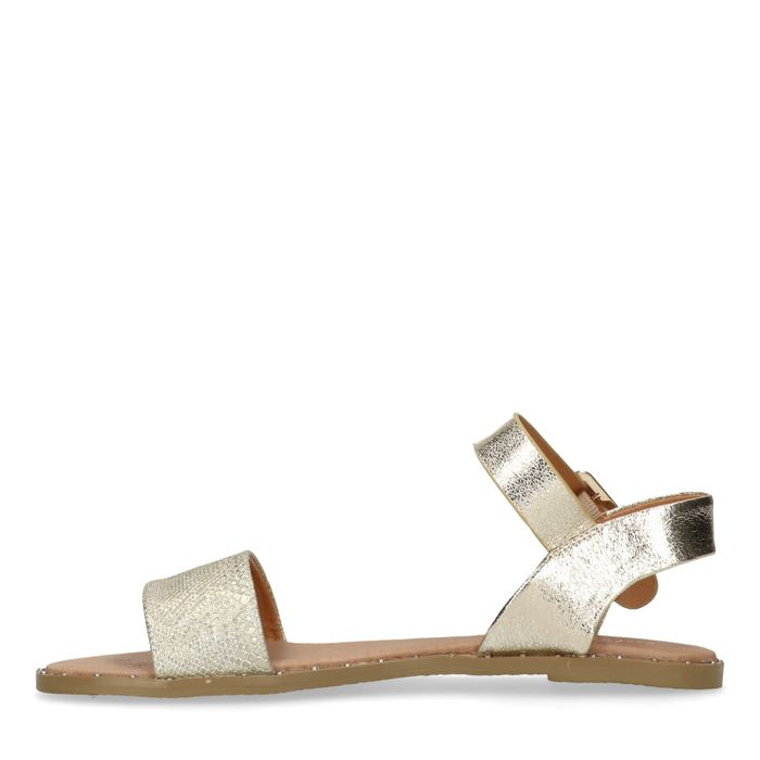 Goldene Sandalen