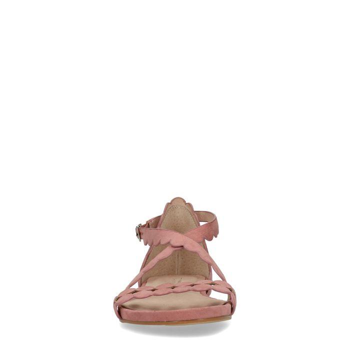 Rosafarbene Sandalen
