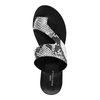 Leder-Sandalen mit Schlangenmuster