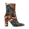 Kurze Stiefel mit Tiger-Print