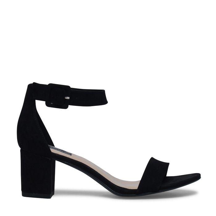 Minimal-Sandalen schwarz