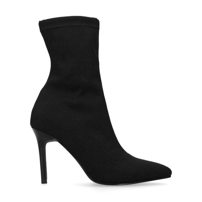 Schwarze Sock Boots
