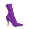 Lilafarbene Sock Boots