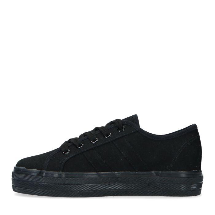 Schwarze Sneaker