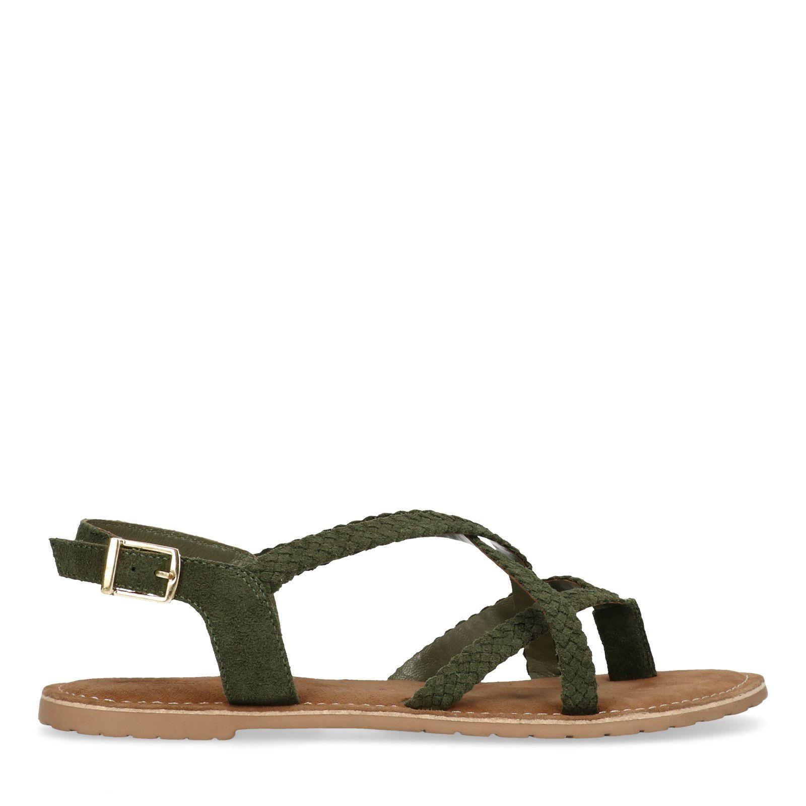 Grüne Sandalen mit geflochtenen Riemchen (36 Rabatt Offizielle Seite Freies Verschiffen Neuestes Bester Verkauf Zum Verkauf Billig Verkauf Bester Verkauf UeiH7rPy