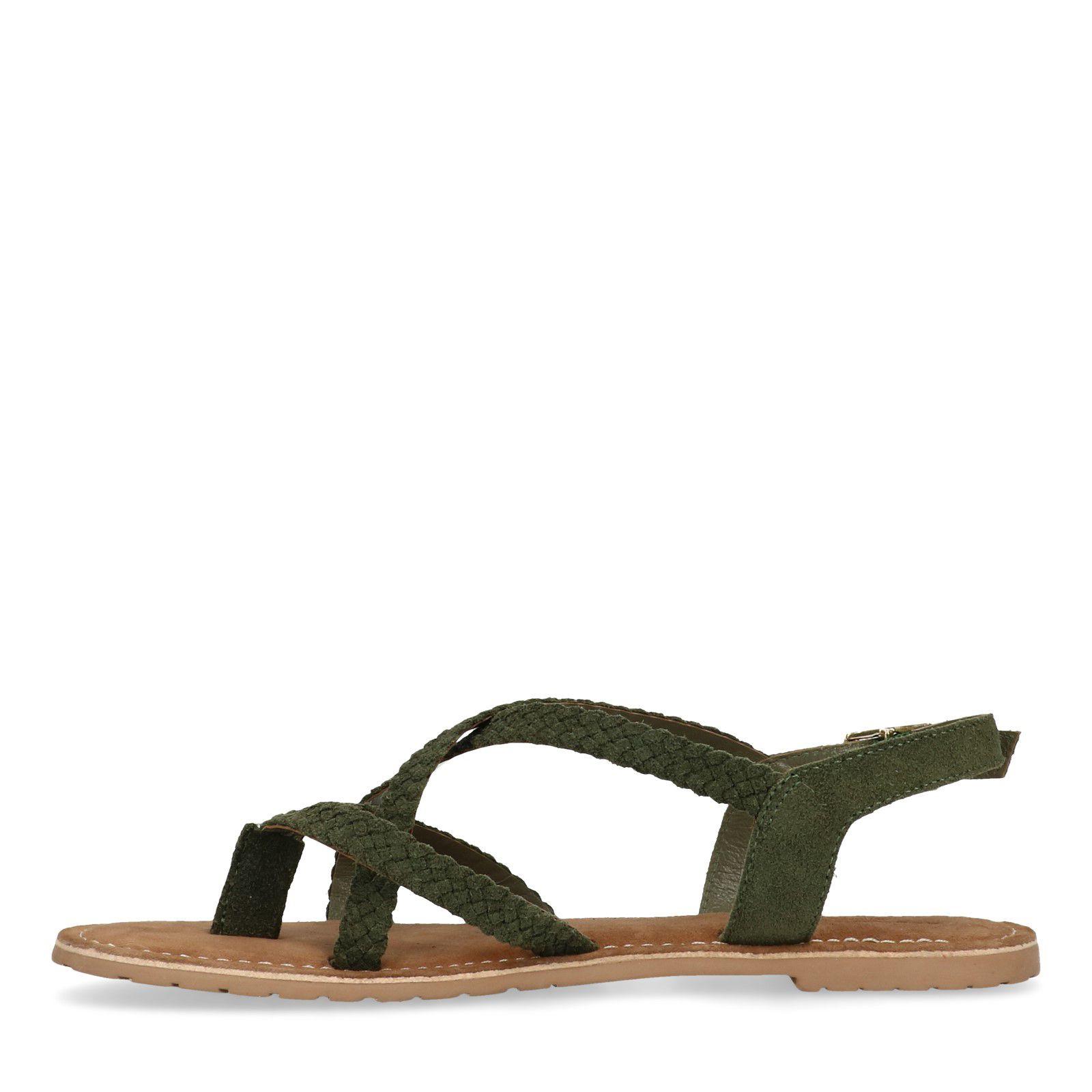 Grüne Sandalen mit geflochtenen Riemchen (36 Verkauf Der Neuen Ankunft zs6Ht