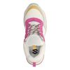 Dad-Sneaker rosa/gelb