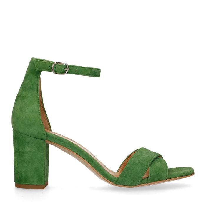 Grüne Sandaletten