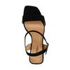Schwarze Sandaletten