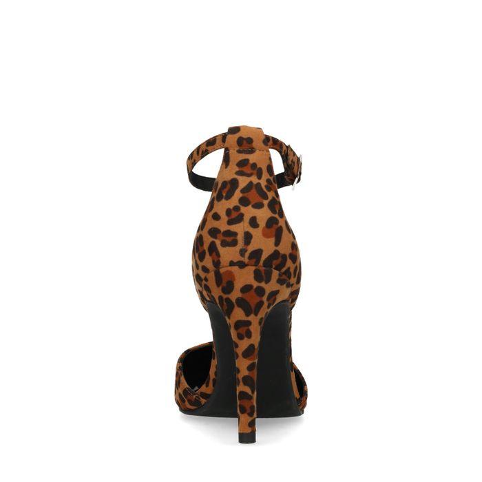 Pumps mit Leopardenmuster