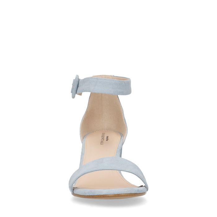 Hellblaue Sandaletten
