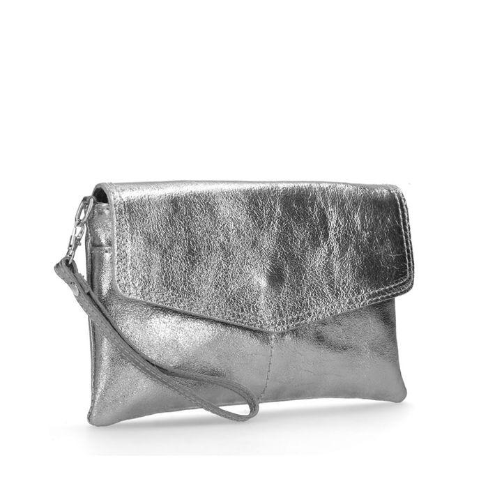 Pochette métallisée - argenté