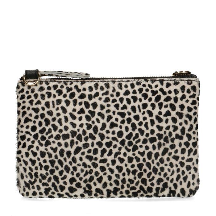 Pochette imprimé léopard