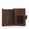 Portefeuille avec protège-cartes - marron foncé