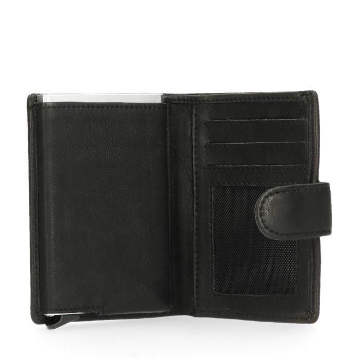 Portefeuille avec protège-cartes - noir