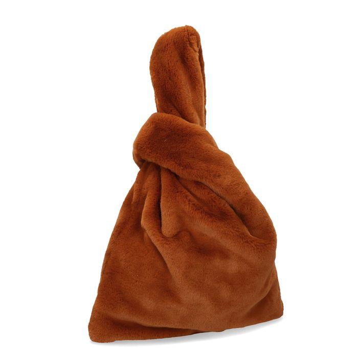 Sac fluffy - marron