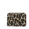Portefeuille imprimé léopard