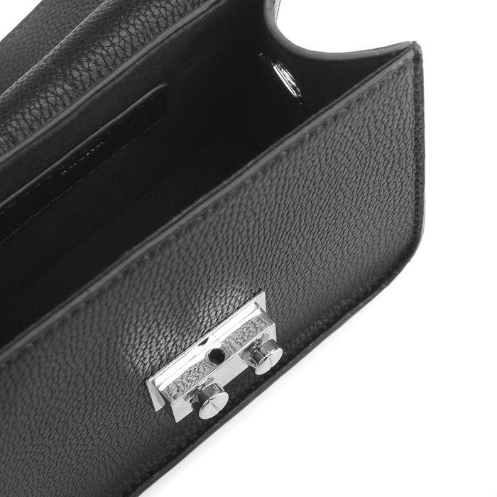 Sacha x Luxblog Sac bandoulière avec rayures sportives - noir