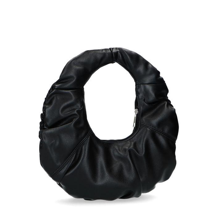 Vivian x Sacha Sac bandoulière en cuir - noir
