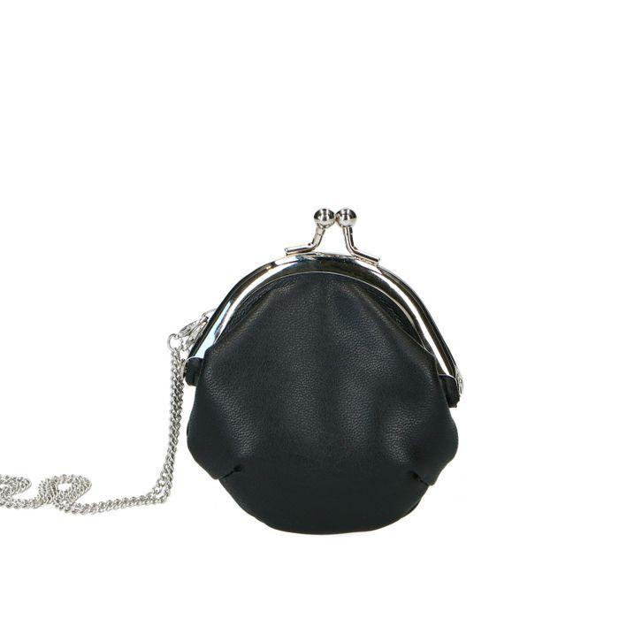 Porte-monnaie avec bandoulière - noir