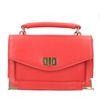Mini sac avec détails dorés - rouge
