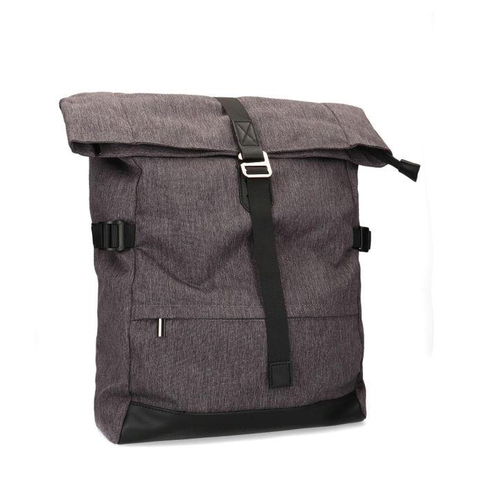 Sac à dos avec étui pour ordinateur portable - gris