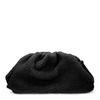 Pochette duveteuse - noir