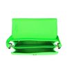 Sac bandoulière avec imprimé serpent - vert fluo