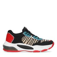 39b79b5b06a sale Zwarte dad sneakers met zebra print 62,99 50,39