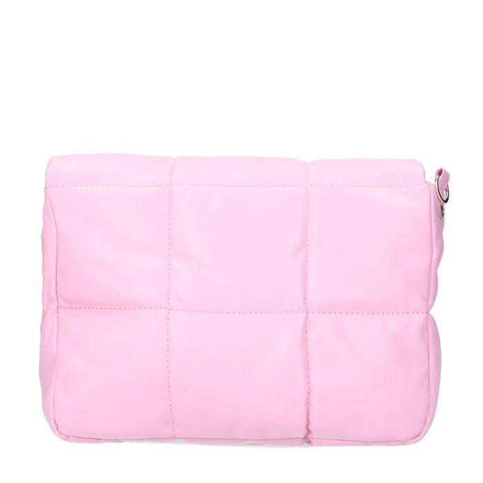 Rosa Puffer-Tasche