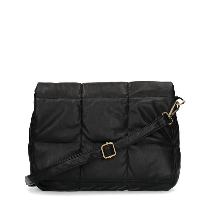 Schwarze Puffer-Tasche