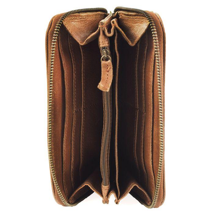 Lederportemonnaie - brun