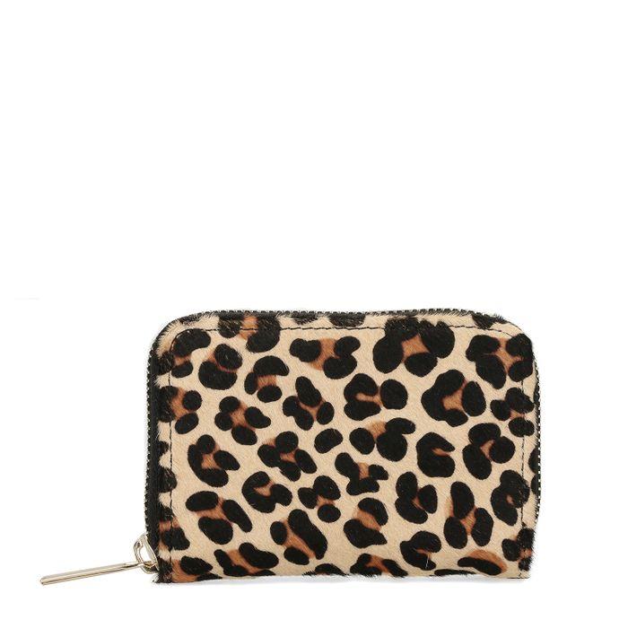 Schwarze Snakeskin-Brieftasche