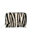 Portemonnaie mit Zebramuster