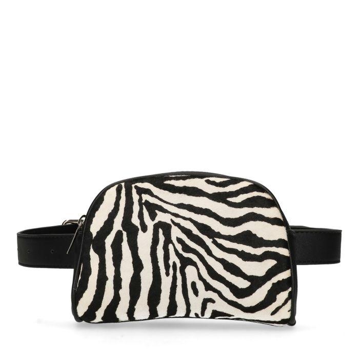 Gürteltasche mit Zebramuster