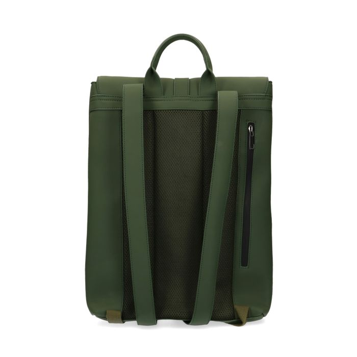 Grüner Rucksack mit Laptopfach