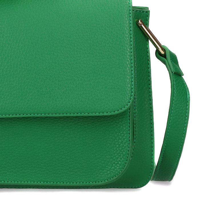 Grüne Schultertasche