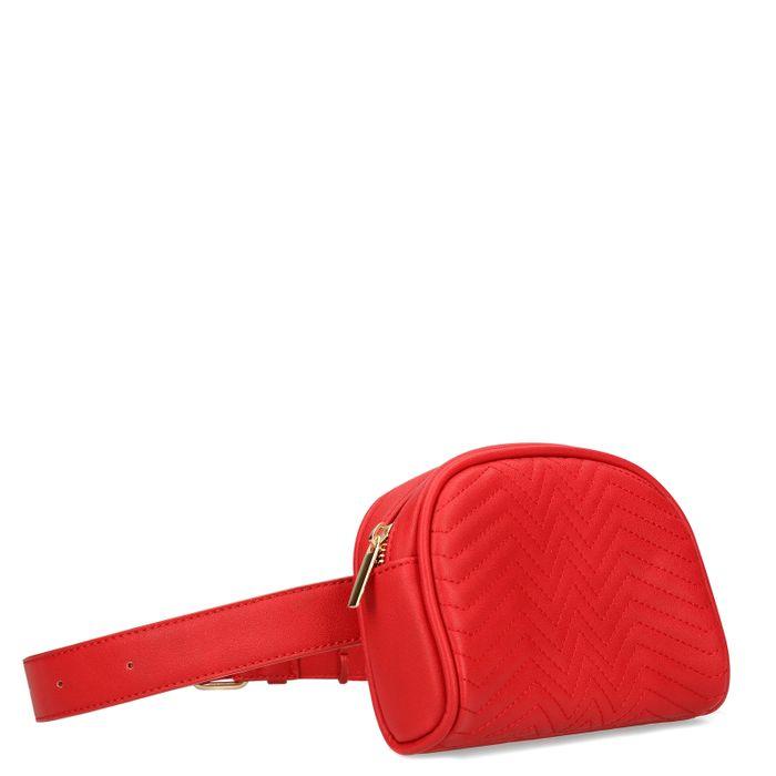 Rote Gürteltasche