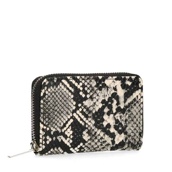Portemonnaie mit Schlangenmuster