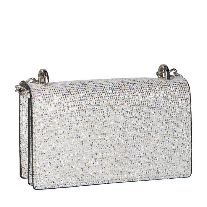 Mini Bag mit Glitzer