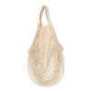 Beigefarbene String-Bag