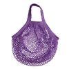Lilafarbene String-Bag