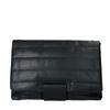 Schwarze Puffer-Handtasche