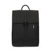 Schwarzer Rucksack mit Laptoptasche