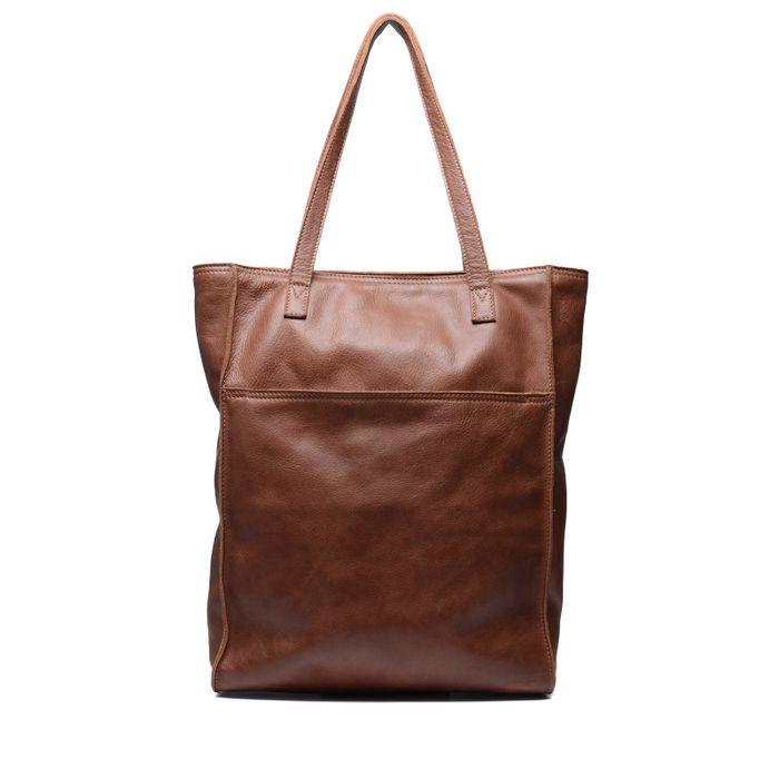 78e80bca21213 Cognacfarbene Leder-Umhängetasche - Taschen – SACHA