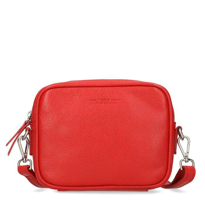 Rood schoudertasje
